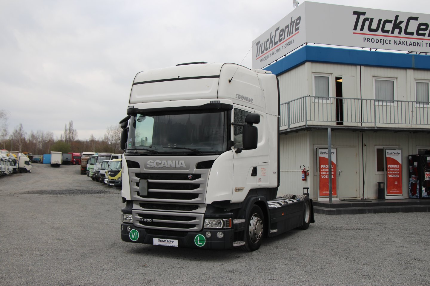 SCANIA R450 LOW DECK E6